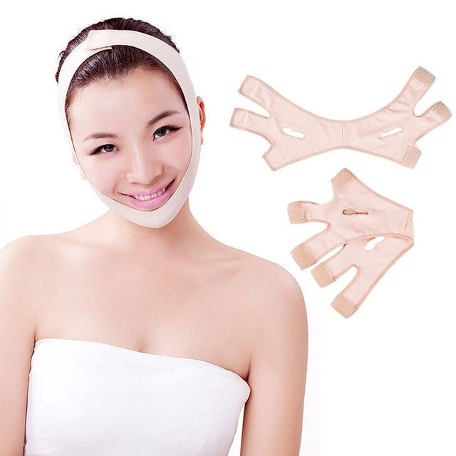 Face Slim Tool Fashion Casual Wrinkle V Face Chin Cheek Lift Up Slimming Slim Mask Ultra-thin Belt Strap Band