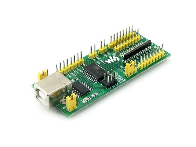FT245 EVAL Board FT245R FT245RL Evaluation Development Kit USB TO Parallel FIFO Module