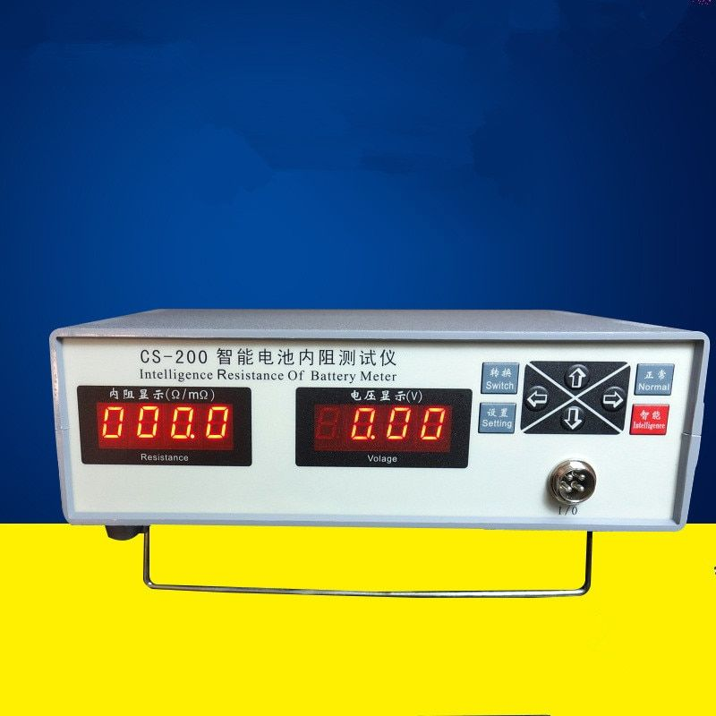 CS-200 Battery Tester Inteligence resistance of battery meter Internal resistance tester Voltage meter