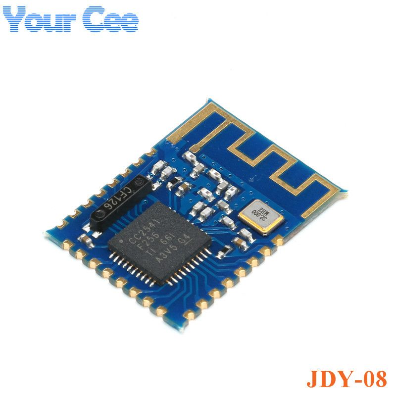 JDY-08 BLE Bluetooth 4.0 Uart Transceiver Module CC2541 Central Switching Wireless Module iBeacon Password123456