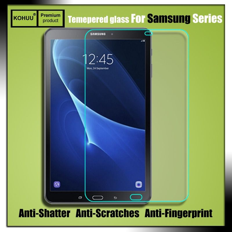 Premium Explosion-Proof 2.5D 9H HD Tempered Glass Screen Protector Film For Samsung GALAXY Tab A6 10.1 T580N T580 SM-T585C