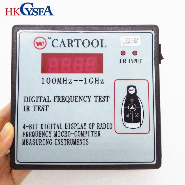 HKCYSEA Digital Display Of Radio Frequency IR Test Micro-Computer Measuring Instruments,Car Key Wireless Remote Control Tester