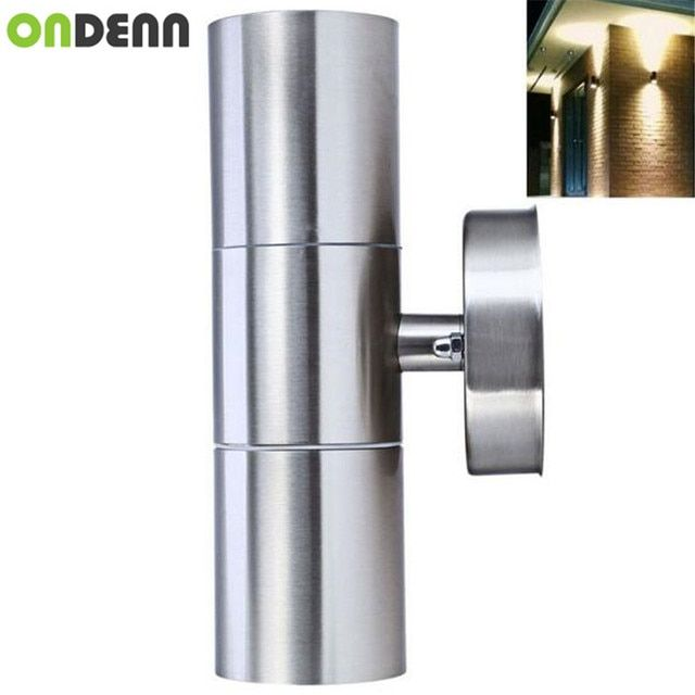 Outdoor up&down Led Wall light Yard Street IP65 Waterproof courtyard garden Corridor wall lamp led CE RoHS Free Shipping 5PCS