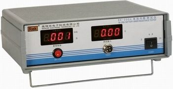 Fast arrival RK-200A battery internal resistance tester  battery internal resistance tester 0~19.99 V,0~200.0mOmega