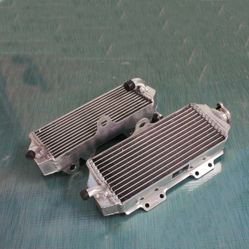 New aluminum radiator For Yamaha YZ 450 F/YZ450F 2003-2005 engine cooling water box for Yamaha WR450F/WR 450 F 2003-2006