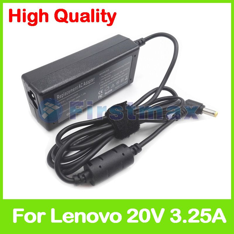 20V 3.25A 65W ac adapter Laptop charger for Lenovo IdeaPad U300s S400 U460 U310 S300 U400 S405 U300 U300e U410 U460s notebook