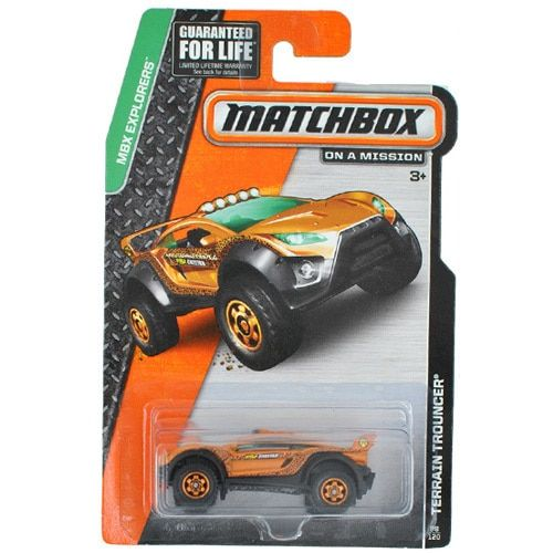 Free Shipping 1:64 MATCHBOX ONE-PACK TERRAIN TROUNCER Alloy Collectible Model Toy Car For kids
