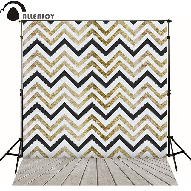 Allenjoy photography backdrops retro luxury abstract lines geometric chevron wallpaper kids cute backgrounds photographic