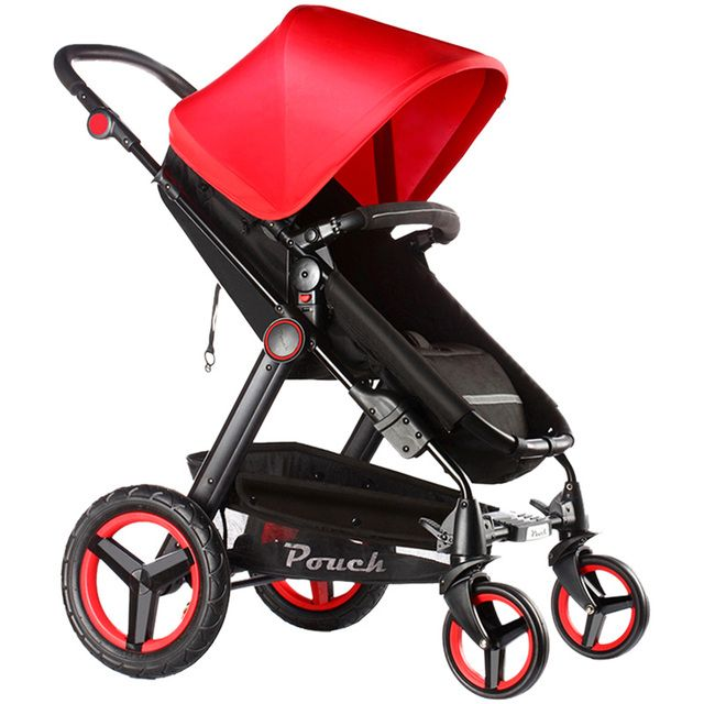 Dsland Baby Carriage Pouch Brand Baby Stroller Car Child Big Wheel Folding Bb Handcars 0~36 Months 2 In 1 Strollers Colorful