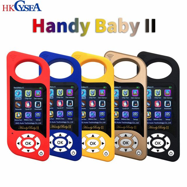 Original Handy Baby/2 Hand-held Car Key Copy Auto Key Tool for JMD 4D/46/48/G Super Red Chip Programmer CBAY Multi-language