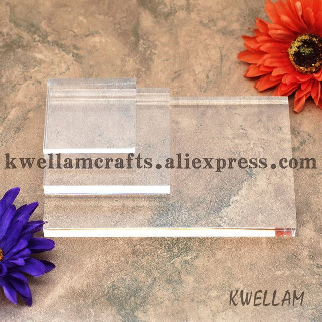 High quality Acrylic stamp block for scrapbooking stamps  KW64252