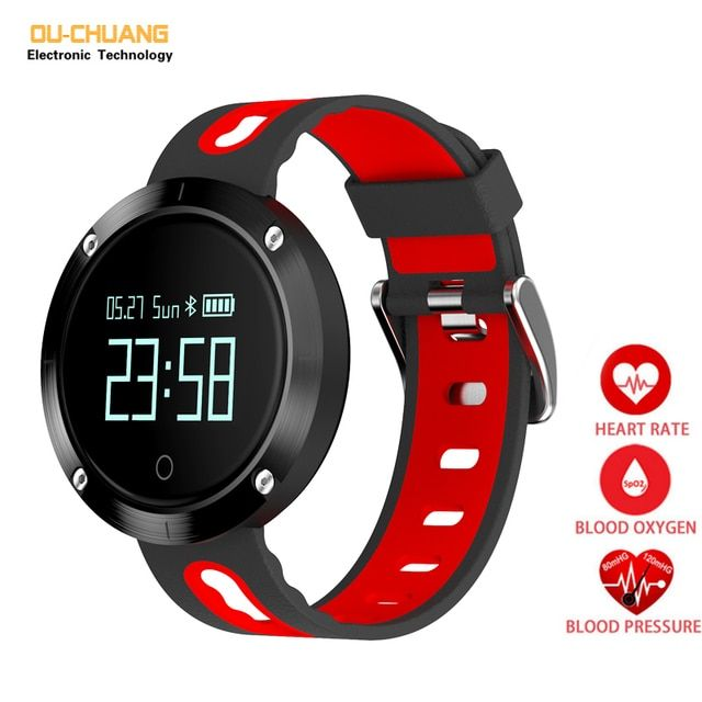 Fashion Sport Digital Smart Watches Heart Rate Blood pressure Sleep Monitor Healthy Smartwatch Pedometer Distance Calories Watch