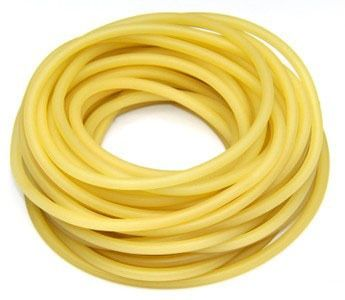 3070 Yellow Rubber Tubing Latex Tubing