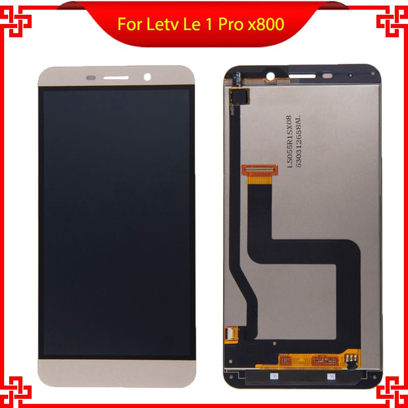 Original For Letv One Pro Le 1 Pro X800 LCD Display Touch Screen digitizer Assembly For  LeEco X800 Display Screen LCD