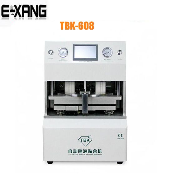NEW Automatic OCA Vacuum Laminating machine+ Bubble Removing Machine for LCD Touch Screen Repair Tool TBK-608