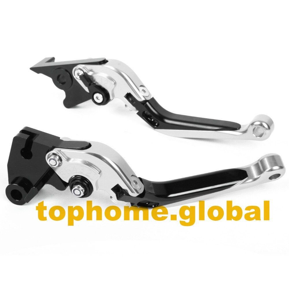 Motorbike Accessories Foldable&Extendable Brake Clutch Levers For Triumph Street Triple 675 2007-2011 2008 2009 2010