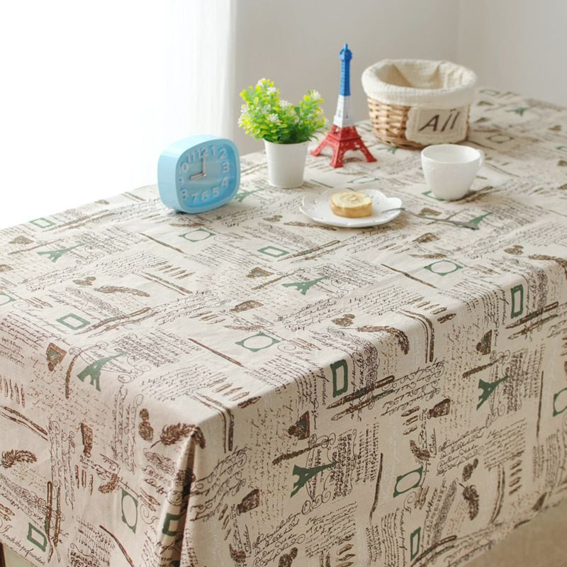 European classical British style cafe table cloth home universal cover cloth tablecloths