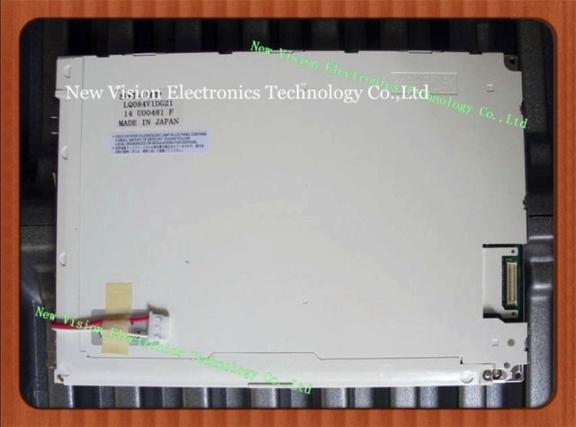 LQ084V1DG21 LQ084V1DG21E Original 8.4 inch LCD Display VGA TFT CCFL Panel For Anritsu MT8820A Radio Communication Analyzer