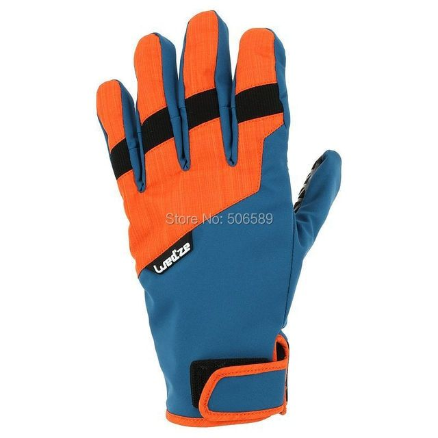 free shipping skiing gloves water-proof warm keep easy wear freestyle