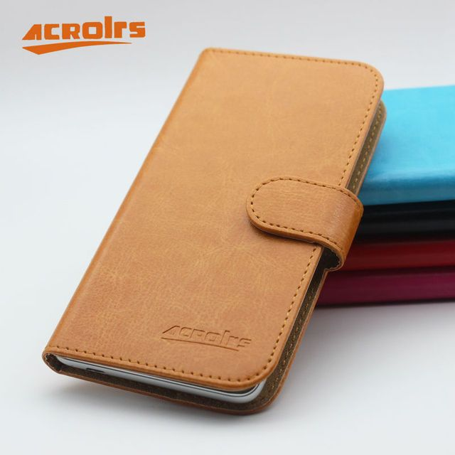 Hot Sale! Wexler ZEN 5 5+ Case New Arrival 6 Colors Luxury Fashion Flip Leather Protective Cover For Wexler ZEN 5 5+ Case