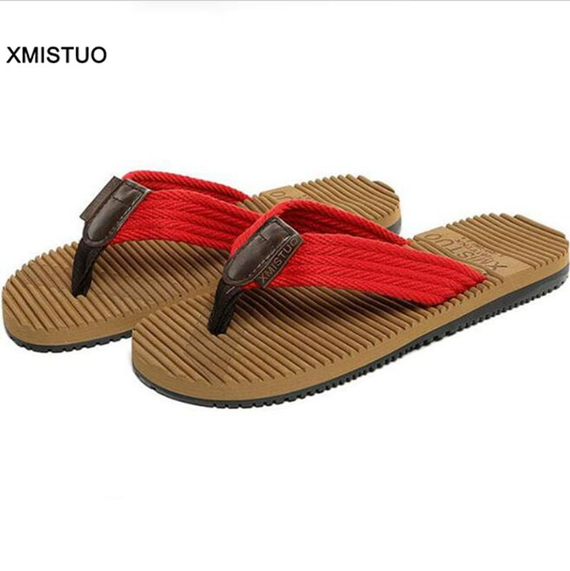 British Style Beach Antiskid Fashion Flip Flops Men Classical Good Quality Home Slippers Comfortable Adults Male Like Flip Flops