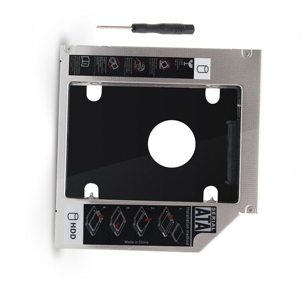 9.5mm Universal Serial ATA 2nd HDD SSD hard disk drive caddy for Dell Precision M4700 M6700 replace UJ8A7 UJ167 UJ267