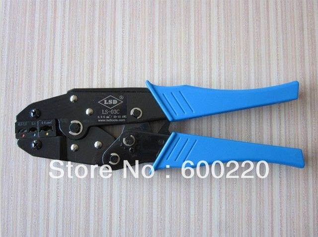 European-style Mini Terminal Crimping Tool LS-03C for crimping 0.5-6mm2 insulated terminals