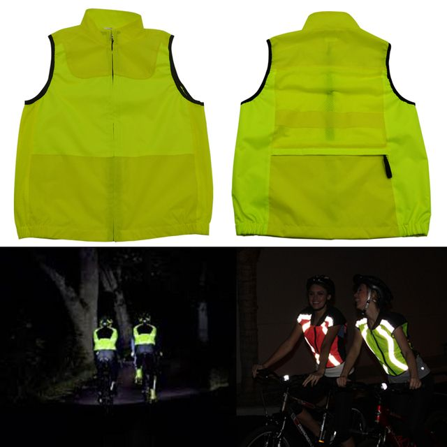 hot sell colorful reflective vest for cycling safety clothing free shipping