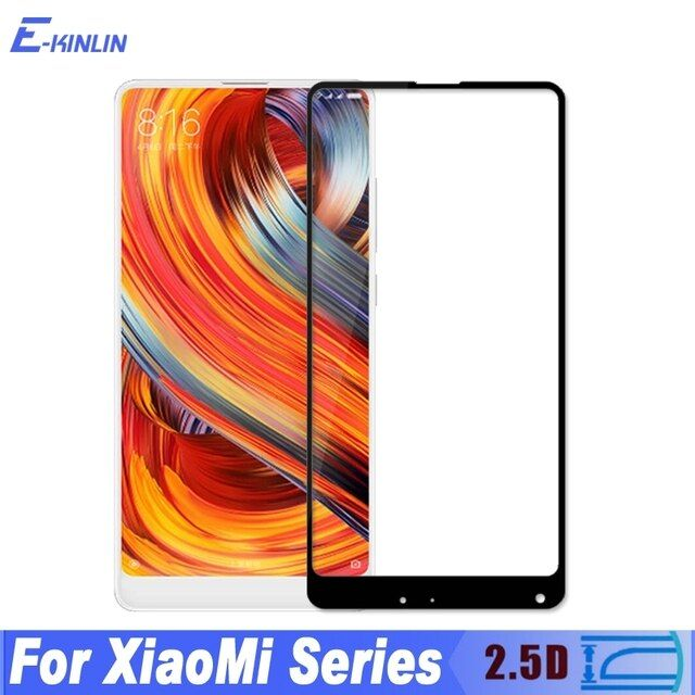 Tempered Glass Film For Xiaomi Mi Max Mix 2 Note 3 Mi6 Mi5C Mi5S Mi5X 6 4 4S 4i 4C 5 5X 5C 5S Plus Full Cover Screen Protector