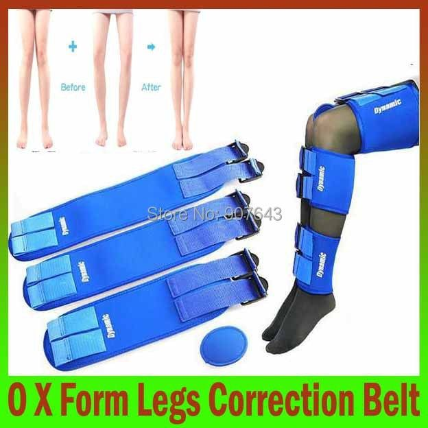 3belts/set Health care beauty Massage hot retailed O-legs X-type legs straighten correction Legs band free size for all people