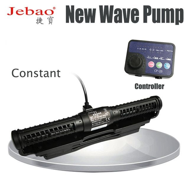 Jebao Marine Aquarium Wave Maker for Wireless Master/Slave Pump Control  CP25 CP40 CP55  circulation pump  cross flow wave pump