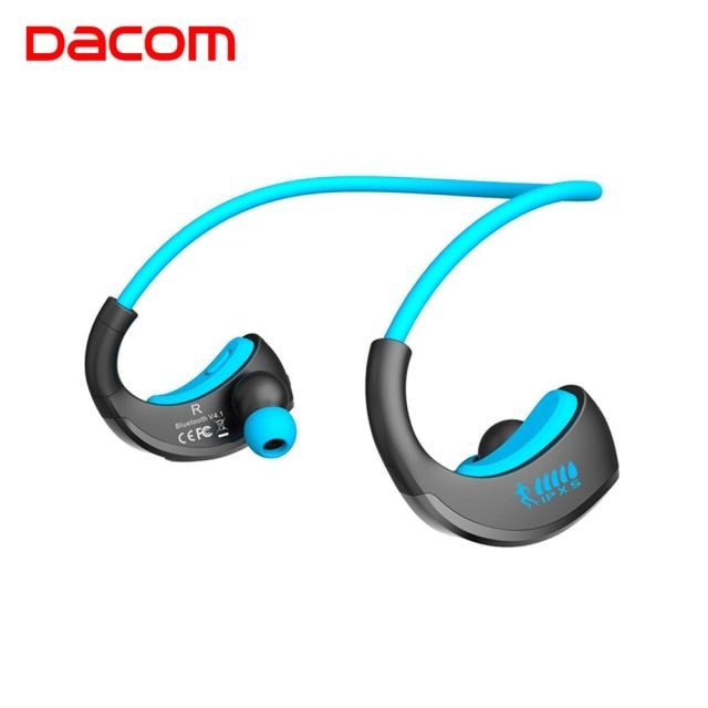 Dacom ARMOR Waterproof Sport Wireless Headphones Earphone Bluetooth Earphone Stereo Audio Headset with Handsfree Mic for Running