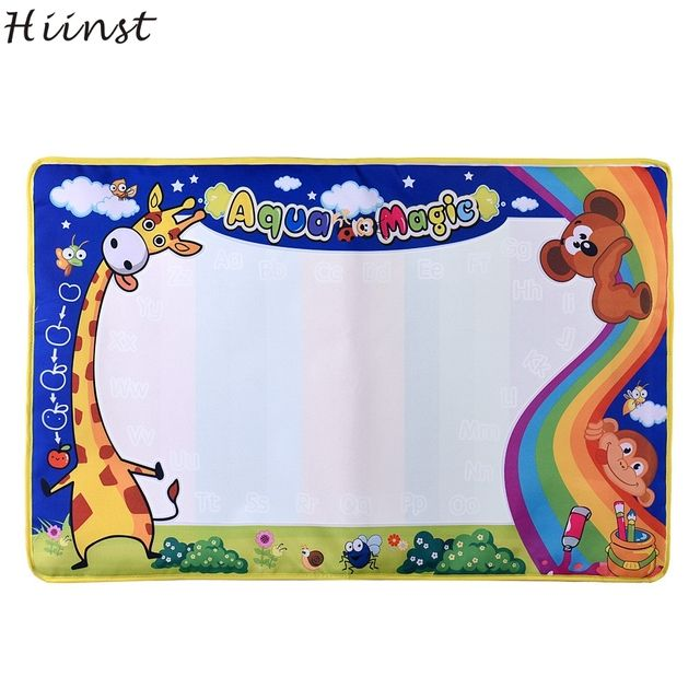 HIINST Water Mat Drawing Painting Writing Board Magic Pen Doodle Gift 7cmXcmt Hot Best seller wholesale S7