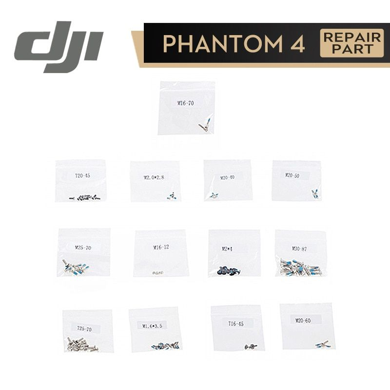 DJI Phantom 4 Screw Set for Phontom4 Original Accessories Parts