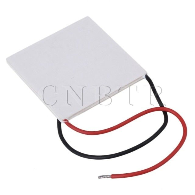 10PCS CNBTR Ceramics Gray White TEC1-12730 Thermoelectric Peltier Cooler Cooling