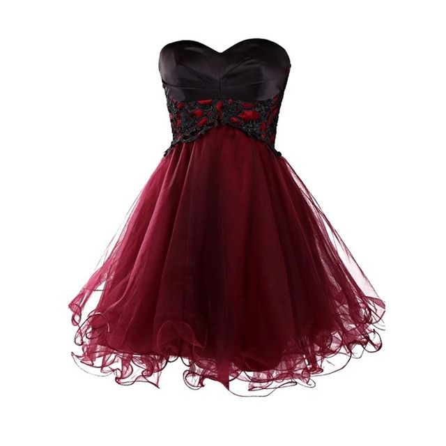 Burgundy Homecoming Dresses 2017 Vestidos de 15 Cortos Empire Short Prom Dresses