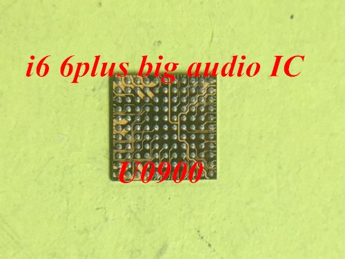10pcs/lot for Iphone 6 6+ 6plus U0900 338S1201 big audio IC chip