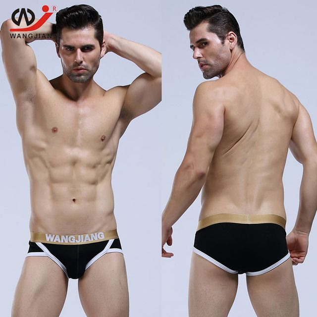 Sexy Men Underwear Briefs Mens Sexy Gay Calzoncillos Hombre Slips Brand Clothing Cotton Slip Homme Sexy Lingerie 4014 SJ