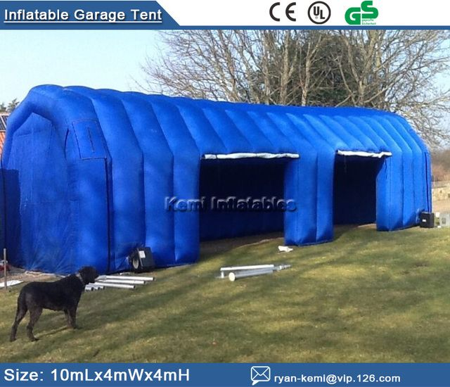 Free shipping Inflatable Garage tent inflatable building storage Inflatable car exhibition display advertising tent