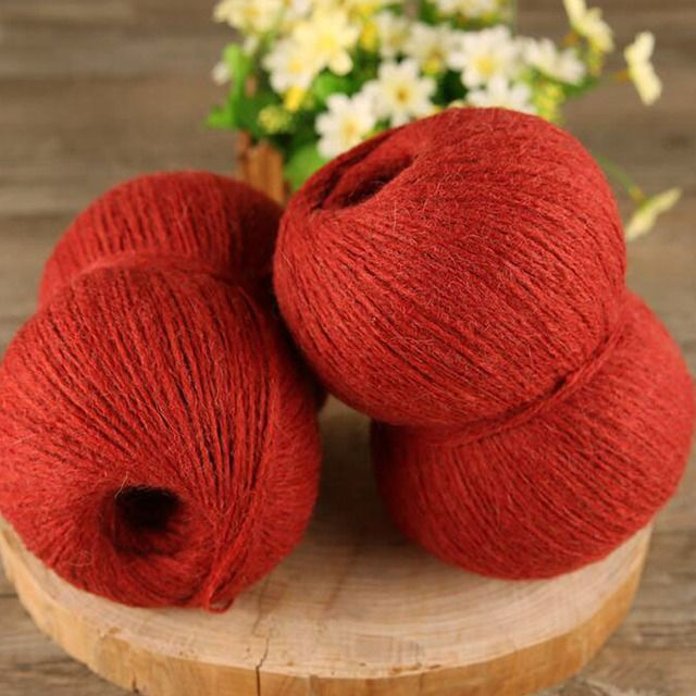 Wholesale 250g/Lot worsted thick yarn for knitting Alpaca/Wool/Acrylic hand knitting crochet yarns pelote de laine a tricoter