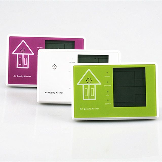 Free shipping Smart Home Gas formaldehyde detector PM2.5 air quality monitoring tester dust haze Temperature Moisture Meter PM10