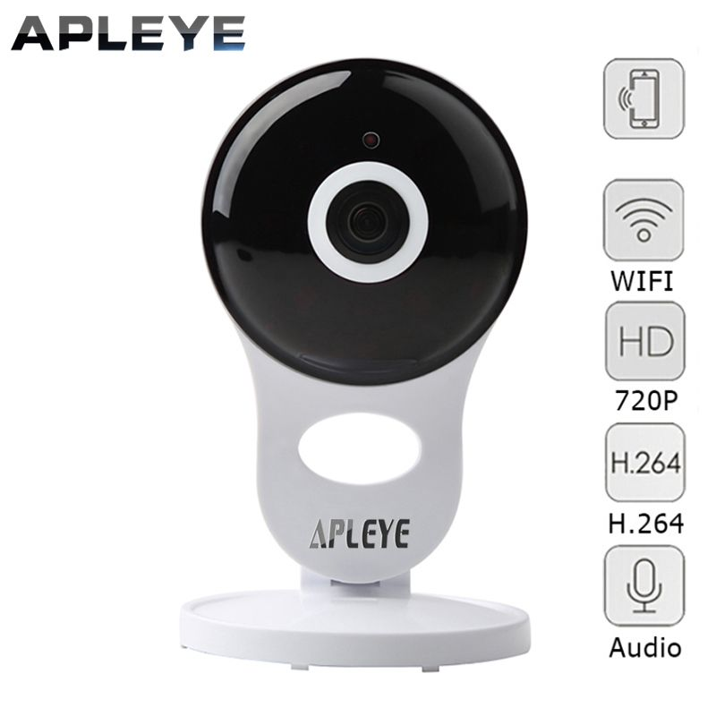 APLEYE 720P WiFi IP Camera P2P CCTV Security Wireless Camera Mini WI-FI Baby Monitor Surveillance Camera