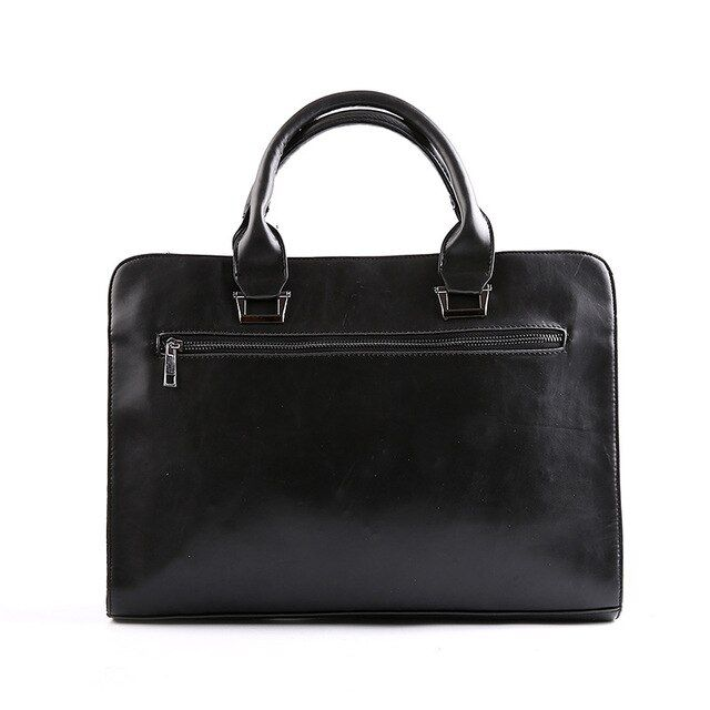 Leather Men Bag Business Briefcase Leather Mens Messenger Bag Vintage Men's Shoulder Bag Luxury Handbags Designer
