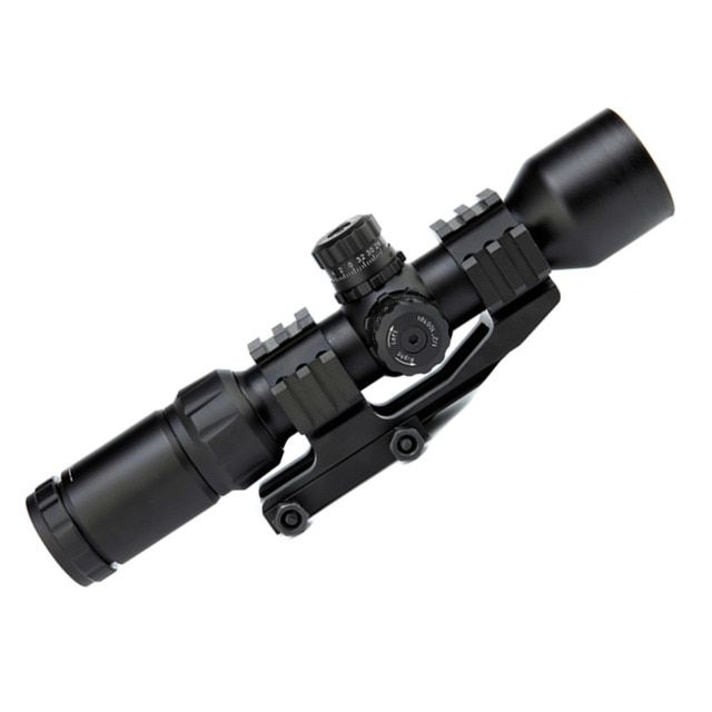 HWYHX Sales promotion New Tactical 1.5-5X40BE Adjustable Magnifier Telescope Sight Scope free shipping