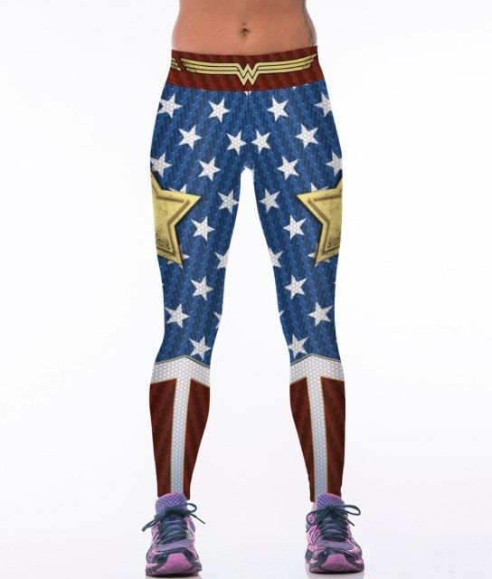 The Usa Flag 3D Printed Sexy Slim Leggings Fitness Women Sportswear Gymnastics Pants Bodybuilding Legins Joggings Jeggings
