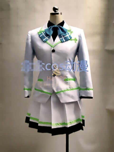 Musaigen no Phantom World Izumi Reina Uniforms Cosplay Costume Free Shipping
