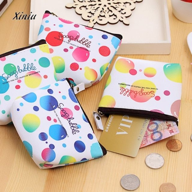 2017  Cute Cartoon  Coin Purse Women Girls  Zip Change Purse Wallet Spider Man Hello Kitty Minions Kids Girl Women For Gift