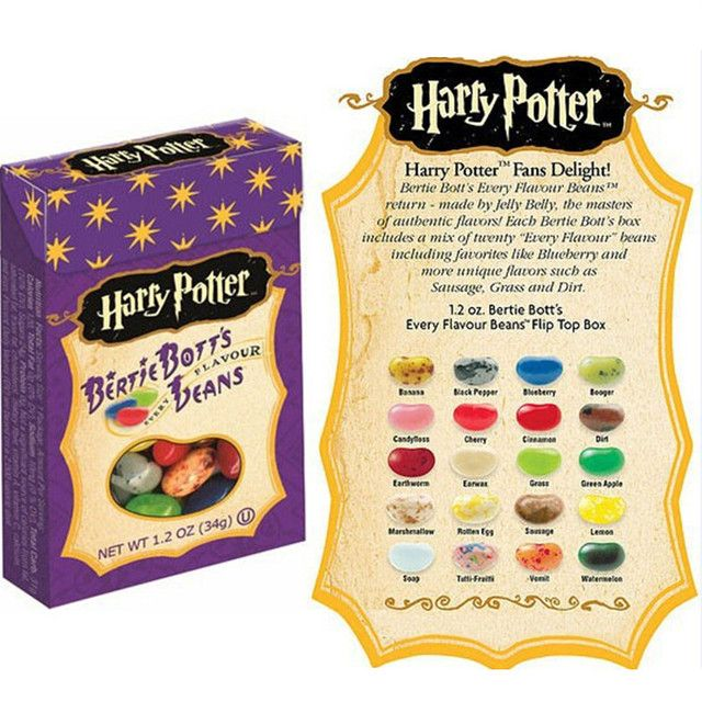 Bean Boozled Strange Taste Food Snack Harry Potter Child Favorites 34g Jelly Beans Candy Bean Boozled Christmas Gift wholesale