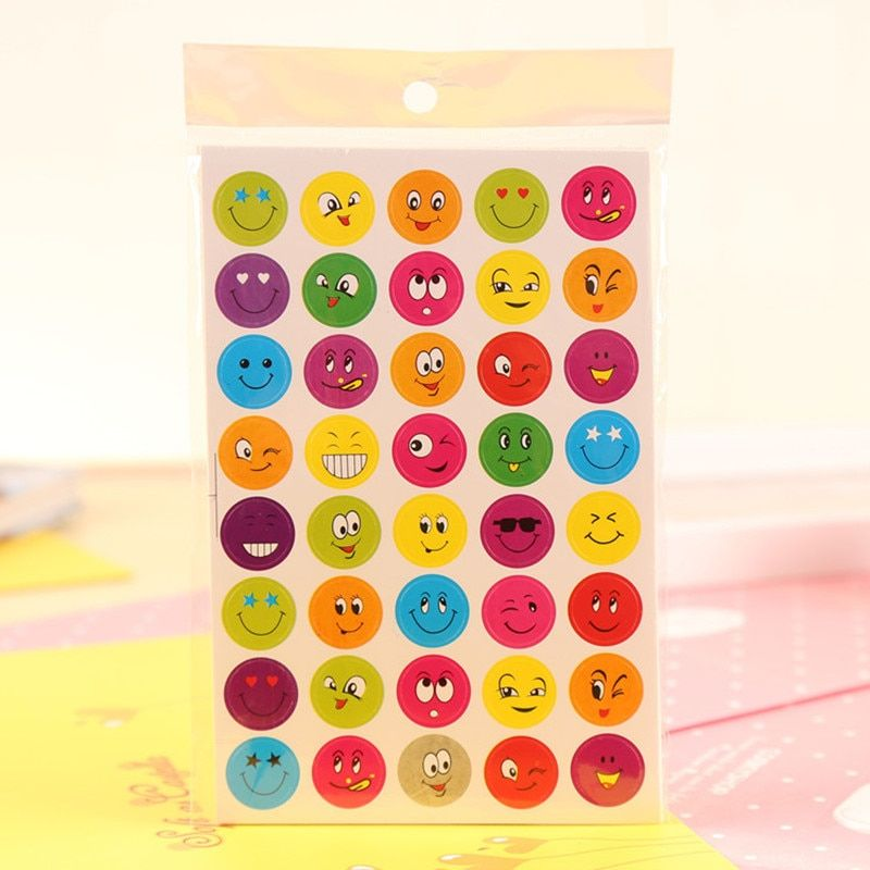 10 Pcs stickers sticker emoji adesivo pegatinas toys for children adesivi autocollant laptop kids naklejki book sets christmass