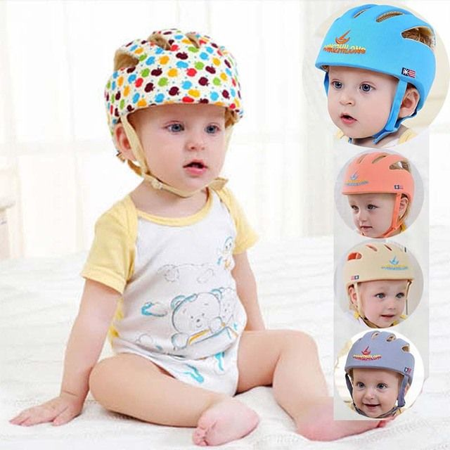 infant protective hat safety helmet for babies cotton baby summer bonnet baseball cap kids sun hats girl muts children boys caps